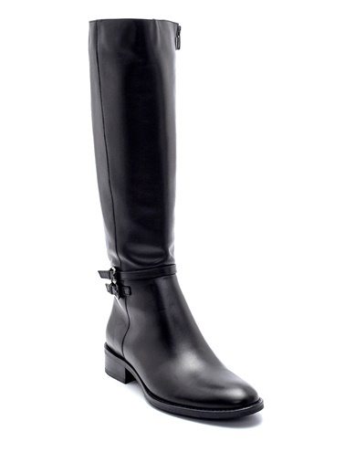 Derimod Kadın Çizme (216-3635-V2) Klasik Siyah